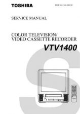 Buy Revised VTV1400CD Service Schematics by download #131764
