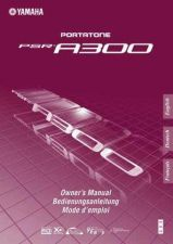 Buy Yamaha PSRA300_EN Operating Guide by download Mauritron #204198