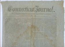 Buy CT New Haven Newspaper Title: Connecticut Journal Date: May-2-1798~16