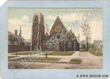 Buy CT Middletown Postcard Holy Trinity Espicopal Church Street Scene ct_box3~1365