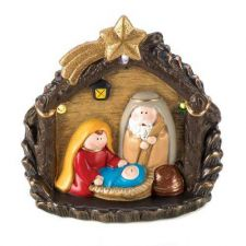 Buy Lighted Large Nativity Figurine