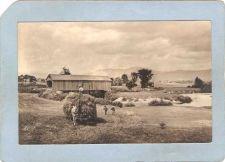 Buy GEN Unknown Covered Bridge Postcard Covered Bridge w/Farming Real Photo Po~1046