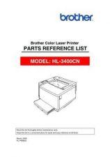 Buy Brother PL 3400CN Service Schematics by download #134799