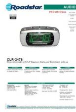 Buy ROADSTAR CLR-2478 by download #127911