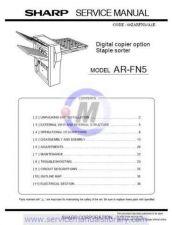 Buy Sharp ARFN6 PG GB-JP(1) Manual by download #179629