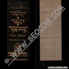 Buy CT Norwich Matchcover Wauregan Hotel Phone 3170 ct_box4~2415