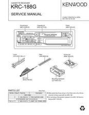 Buy KRC-208S 218 268 288 28MR Service Schematics by download #131676