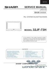 Buy Sharp 32JF73H SM GB(1) Manual.pdf_page_1 by download #178253