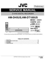 Buy JVC HM-DH5SCH TECHNICAL DATA by download #131006