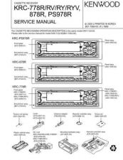 Buy KRC-788 HN4 Service Schematics by download #131698
