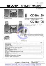 Buy Sharp CDBA3000H SM GB Manual by download #179843