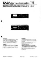 Buy SABA CD 110 CD 11 by download #128593