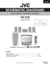 Buy JVC TH-V70 PART TECHNICAL DATA by download #131482