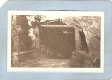 Buy GEN Unknown Covered Bridge Postcard Covered Bridge Real Photo Post Card RP~1042