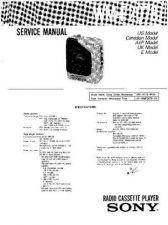Buy Sony SONY WM-F2078 Service Manual by download Mauritron #194096