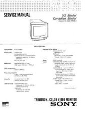 Buy SONY GV-S50 Service Manual by download #166920