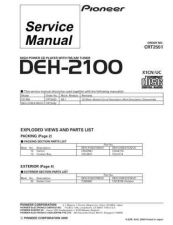 Buy PIONEER C2551 Service Data by download #148953