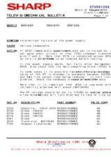 Buy SHARP DV5132HPS PSU Service Manual by download #157932