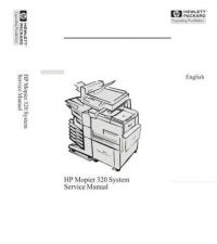 Buy HP MOPIER 320 SERVICE MANUAL by download #151326
