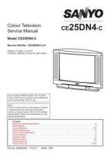 Buy SANYO CE25MT2-EZ EC5-A Service Data by download #133471