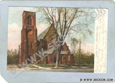 Buy CT Middletown Postcard Trinity Church Undivided Back ct_box3~1362