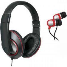 Buy Isound 2-in-1 Sound Kit Dj-style Headphones & Earbuds (black)