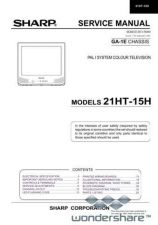 Buy Sharp 21HT15H SM GB(1) Manual.pdf_page_1 by download #177901