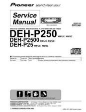 Buy PIONEER C2981 Service Data by download #149130
