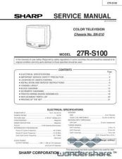 Buy Sharp 27RS100 SM GB Manual.pdf_page_1 by download #178033