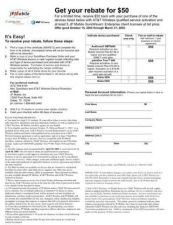 Buy PALM REBATE ONLINE FORM LIST PRICE 12-10-04 FINAL by download #127333