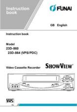 Buy Funai GB 23D-860 864 Manual by download #162482