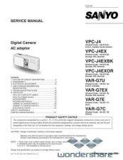 Buy Sanyo VPC-J1EX-02 Manual by download #177560