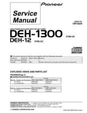 Buy PIONEER C2628 Service Data by download #152735