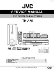 Buy JVC TH-A75 Service Manual by download #156539