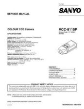 Buy Sanyo VCC-6594P Manual by download #177370