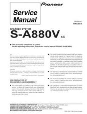Buy PIONEER R2075 Service Data by download #153112