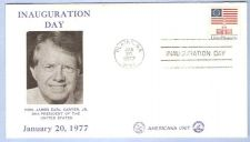 Buy GA Plains First Day Cover / Commemorative Cover Jimmy Carter Inauguration ~49