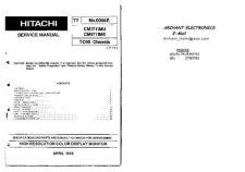 Buy Hitachi HITACHI CM1711ME-CHASSIS-TC95 Manual by download #170935