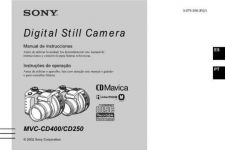 Buy SONY MVC-CD400 OPERATING GUIDE by download #167103