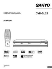 Buy Sanyo DVD-SL40UK2 Manual by download #174187