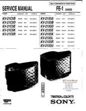 Buy MODEL SONY KV21C5B KV21C5D KV21C5E KV21C5K KV21C5R KV21X5A KV21X5B Service Infor