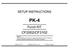 Buy Konica UNPACKPK 4 Service Schematics by download #136516