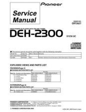 Buy PIONEER C2627 Service Data by download #149013