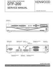 Buy KENWOOD DTF-200 Technical Info by download #148099