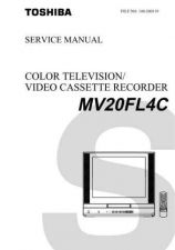 Buy TOSHIBA MV20FL4C Service Schematics by download #160275