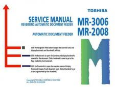 Buy Toshiba MR3006SM Service Manual by download #139337