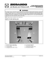 Buy SEADOO SSI9802A Service Manual by download #157762