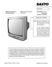 Buy Sanyo DS19204(OM) Manual by download #174001