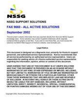 Buy Konica 9660 Service Schematics by download #136335