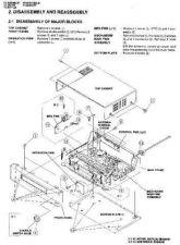 Buy Sharp VCM271HM-024 Service Schematics by download #158841